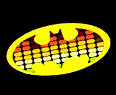 Led Sound-Activated T Shirt Light Up El E Qualizer Lite Batman Dark Knight Rises