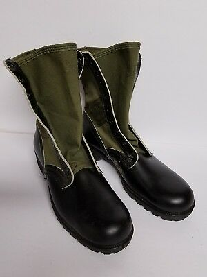 US Army Military Vietnam  Combat Jungle Boots C.I.C Genesco size 9N made 1967