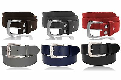 G K EuroSport Womens Thick Wide Stitched Leather Belt - MAP019A