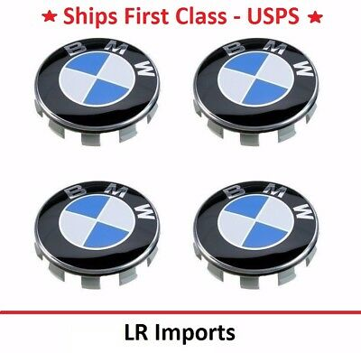 New 4pc BMW Wheel Caps Center Hub Cap for 3 5 6 7 Series X6 X5 X3 Z3 Z4 68mm