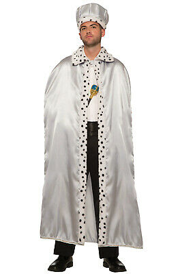 Adult Storybook Fairy Tale Royal Cape (Silver)