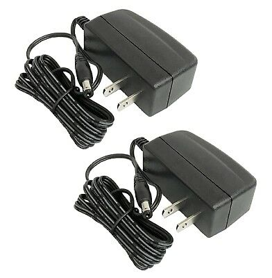 2x UL Listed 12V DC 1Amp Power Supply Switch Adapter CCTV Security System Camera