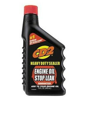 2-pack of CD-2 4105R STOP LEAK FOR ENGINE OIL - 15 OZ.