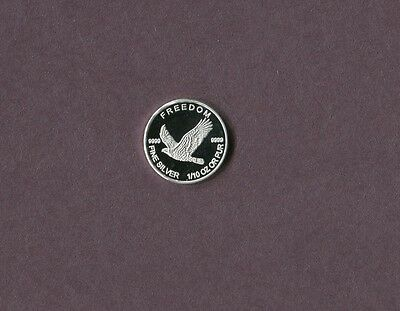 Freedom Flying Eagle 1/10 Ounce .999 Fine Silver Round...Nice!