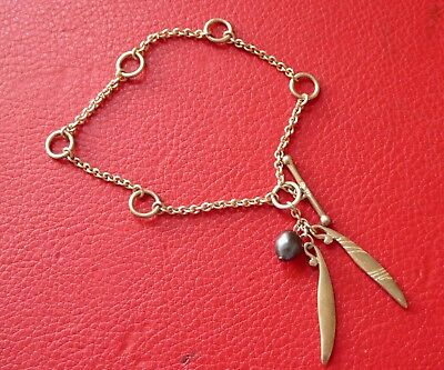 925 silver bracelet with pearl