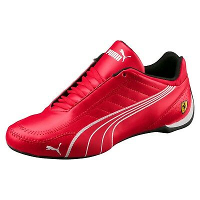 7fe244ba282e Size 12 PUMA SF Future Kart Leather Sneakers Casual Shoes Ferrari Rosso  Corsa