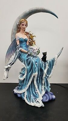 DISCOUNTED! Fairy and Fig Moon Blue, 10-inch Figurine, 50% OFF rrp