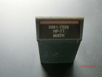 VINTAGE MATH ROM for HP-71B Calculator with Manual