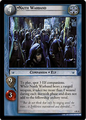 LoTR TCG Ents of Fangorn EoF The Witch-King Deathless Lord 6P122 *Played*