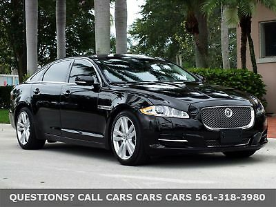 Jaguar XJ XJL SUPERCHARGED-PORTFOLIO-ONLY 50K MILES-LIKE 12 FLORIDA IMMACULATE-50K MILES-NAV-BACK UP CAM-PARK ASSIST-ABSOLUTELY NONE NICER