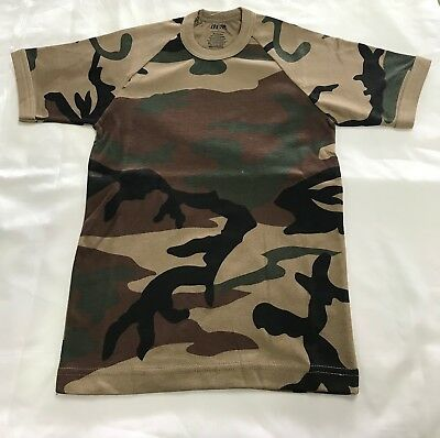 T Shirt - Woodlands - Kids 6 To 4XL