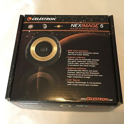 CELESTRON® - NexImage 5 Solar System Imager with iCap Software New in Box