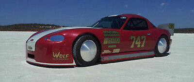 "Bullet Land Speed car MX5 1UZFE, T56, 9"" Diff Supercharged suit Drag racing"