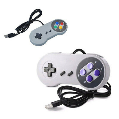 1 x Super Nintendo SNES USB 16 bit Controller GAME PAD For PC Raspberry