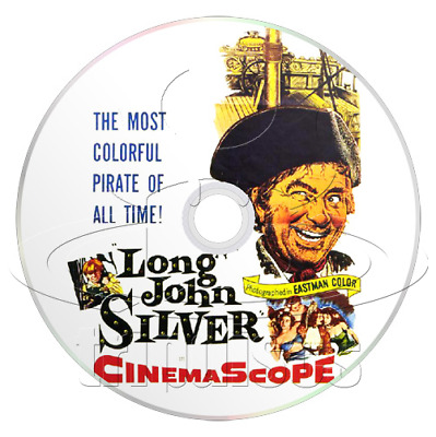 Long John Silver (Return to Treasure Island) (1954) Action, Adventure Movie DVD