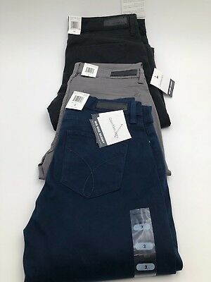 Calvin Klein Womens Mid Rise Skinny Pants/Jeans, **New**