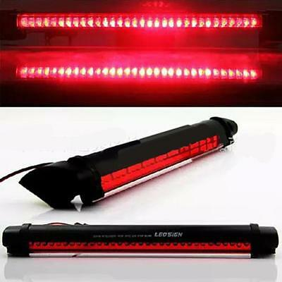 Red 14 LED 3rd Auto Car Brake Rear Tail Light High Mount Stop Lamp 12V RS