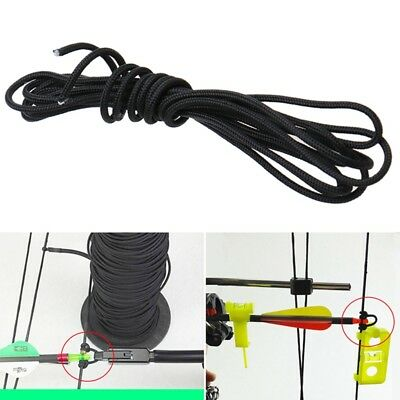 2.5mm x 2m Archery Release Bow Compound String Nock D Loop Rope Cord Bowstring