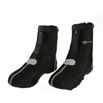 RockBros Cycling Shoecovers Warm Cover Rain Protector Waterproof Black Overshoes