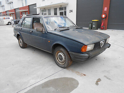1981 Alfa Romeo Giulietta 1.8, genuine barn find ,1 owner, not fiat ,lancia