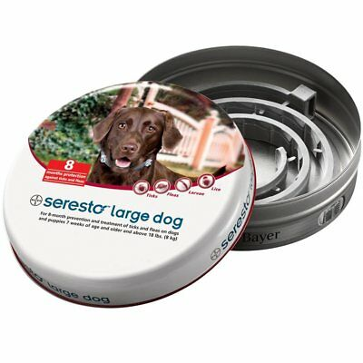 Seresto Flea & Tick Collar for Large Dogs Over 18lbs - Free Shipping