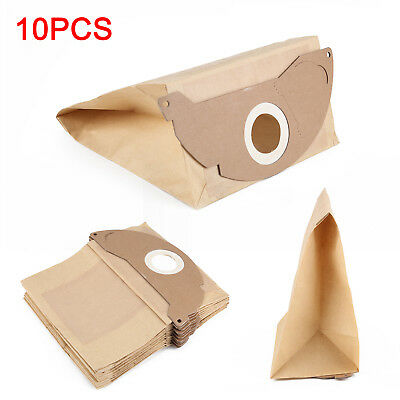 10Pcs Strong Dust Bags for Karcher WD2.200 MV2 IPX4 WD2240 Vacuum Cleaner Hoover