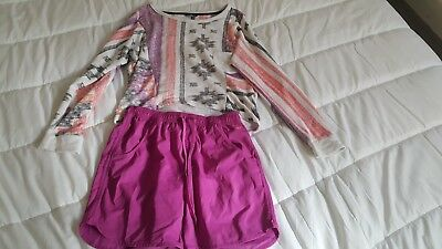 Roxy Womens Jumper and Shorts Size 14