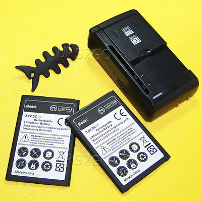 Good Character 2600mAh Standard Battery Charger for LG K8+ X210ULM Cellphone USA