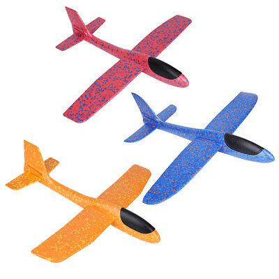Kids Flying Toys Foam Hand Throwing Aircraft Glider Air Plane Toy Airplan Model