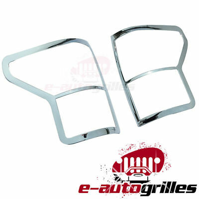 07-16 TOYOTA DOUBLE CAB Triple Chrome Plated ABS Plastic Gas Fuel Cap Door Cover