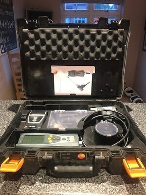 Used Testo 327 Flue Gas Analyser With Printer in carrying case.