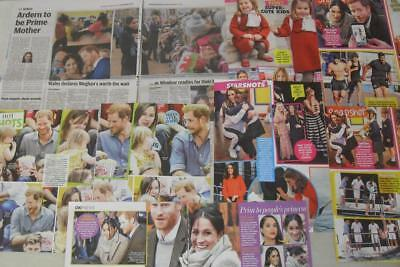 PRINCE HARRY Meghan Markle KATE MIDDLETON Charlotte*Magazine/Newspaper Clippings