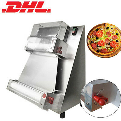 NEW Automatic Pizza Dough Roller Sheeter Machine Pizza Making Machine 【DHL SHIP】