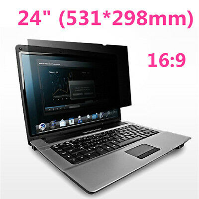 "24"" inch Privacy Filter Screen Protective Film For 16:9 Screen Computer Laptop"
