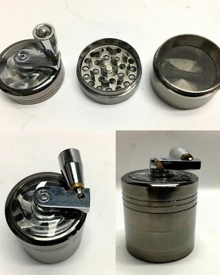 New Mini Metal Alloy Herb Spice Grinder Crusher Smoke Hand Muller