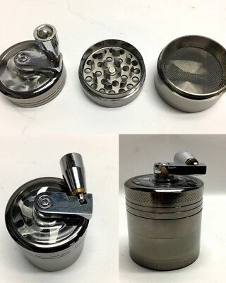 New Mini Metal Alloy Herb Spice Grinder Tobacco Crusher Smoke Hand Muller