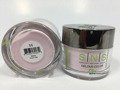 SNS PreBonded Nail Dipping System Gelous Dip Powder 28g #056 Barely There Pink