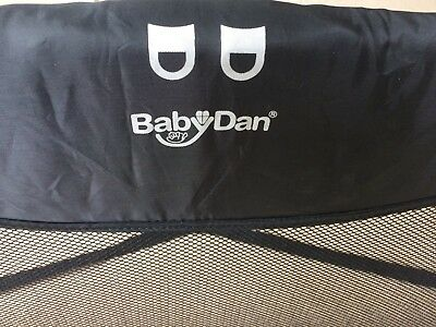 Babydan Sleep n Safe Folding Bed rail Safety Guard Portable Black