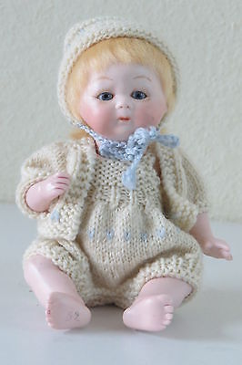 "Puppe Miniatur Puppe Repro "" S2 "" : Tynie Baby 18 CM"