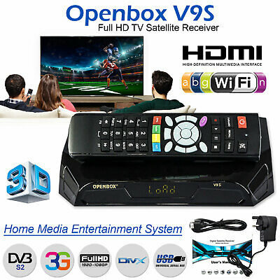 HD 1080 Digital TV Satellite Receiver OPENBOX v9s Smart Box IPTV UK
