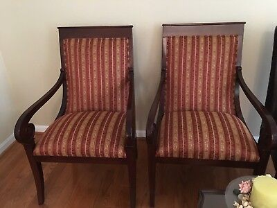Pair Of Beautiful Ethan Allen Chairs