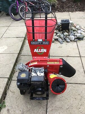 Mighty Mac Allen Leaf/wood Chipper/blower In Excellent Working Order