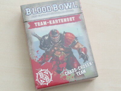 Blood Bowl Teamkarten Doom Lords *Neu* Deutsch Team-Kartenset Chaos Chosen