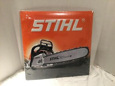 Stihl Collectable Metal Tacker Sign