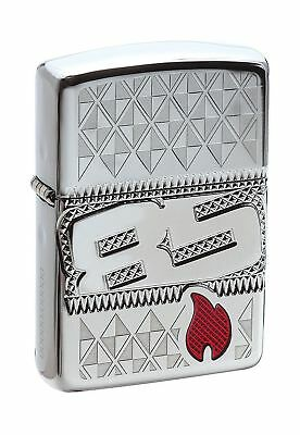 Zippo 2017 Collectible of the Year Armor 85th Anniversary Windproof Lighter -...