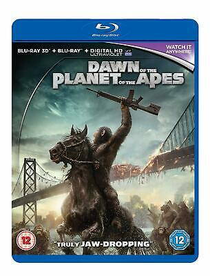 Dawn Of The Planet Of The Apes [2017] (3D Blu-Ray) Gary Oldman, Andy Serkis