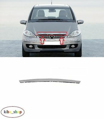 Mercedes-Benz A-Class W169 2004 - 2008 New Front Bonnet Moulding Chrome Trim