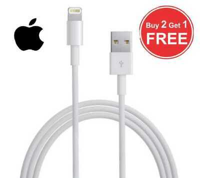 ORIGINAL GENUINE Apple iphone charger Lightning USB Cable for iPhone 6 6S 7 8 X