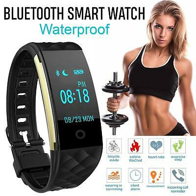 S2 Heart Rate GPS Waterproof Smart Bracelet Watch Wristband Sport Fitness Track