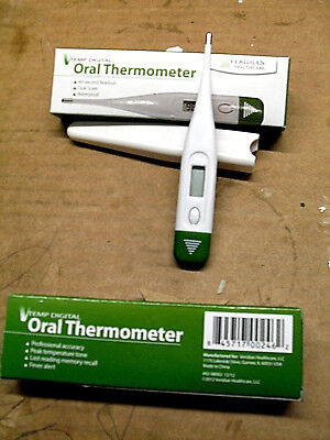 (2) Veridian 08-308 V Temp 10-second Hypothermia Digital Thermometers